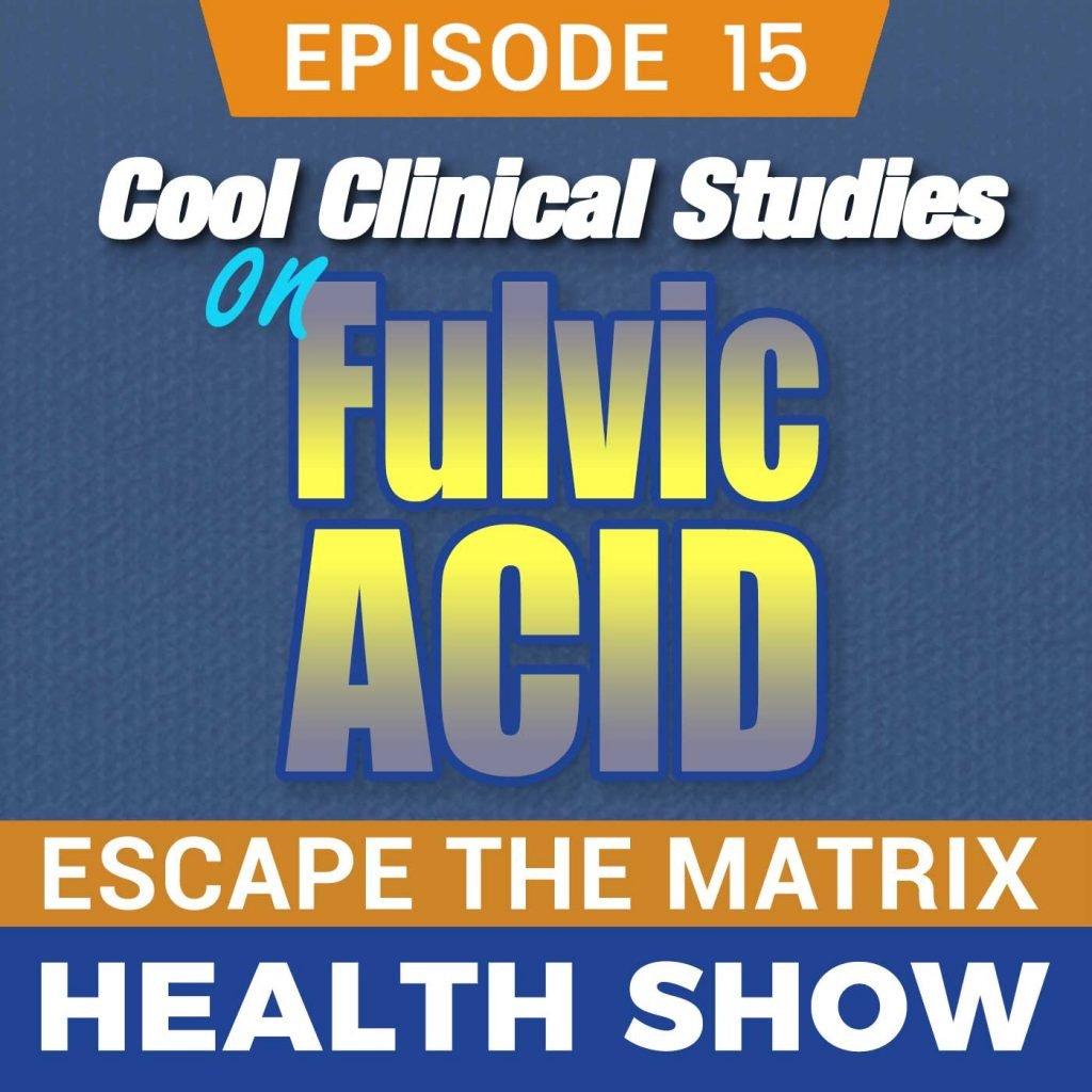 fulvic acid clinical studies