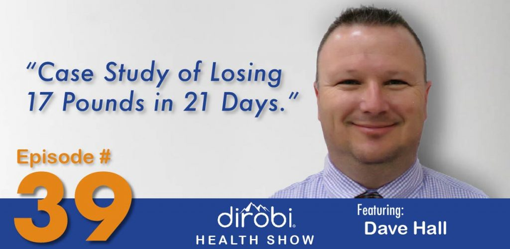 17 pounds weight loss in 21 days