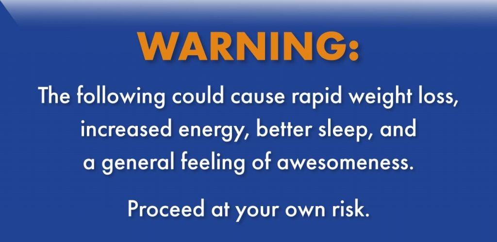 Un Diet Warning