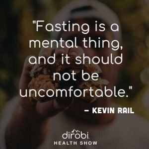 """Fasting is a mental thing, and it should not be uncomfortable."""