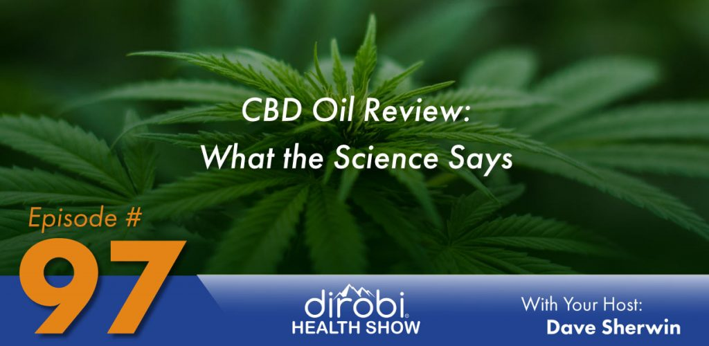 CBD oil review graphic header