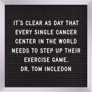 cancer treatment centers need to step up their exercise game