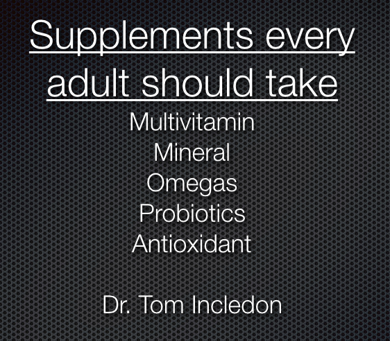 main supplements people sould take