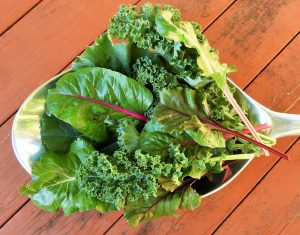 green leafy vegetables, superfood 2
