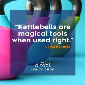lisa balash quote about the magic of kettlebell training
