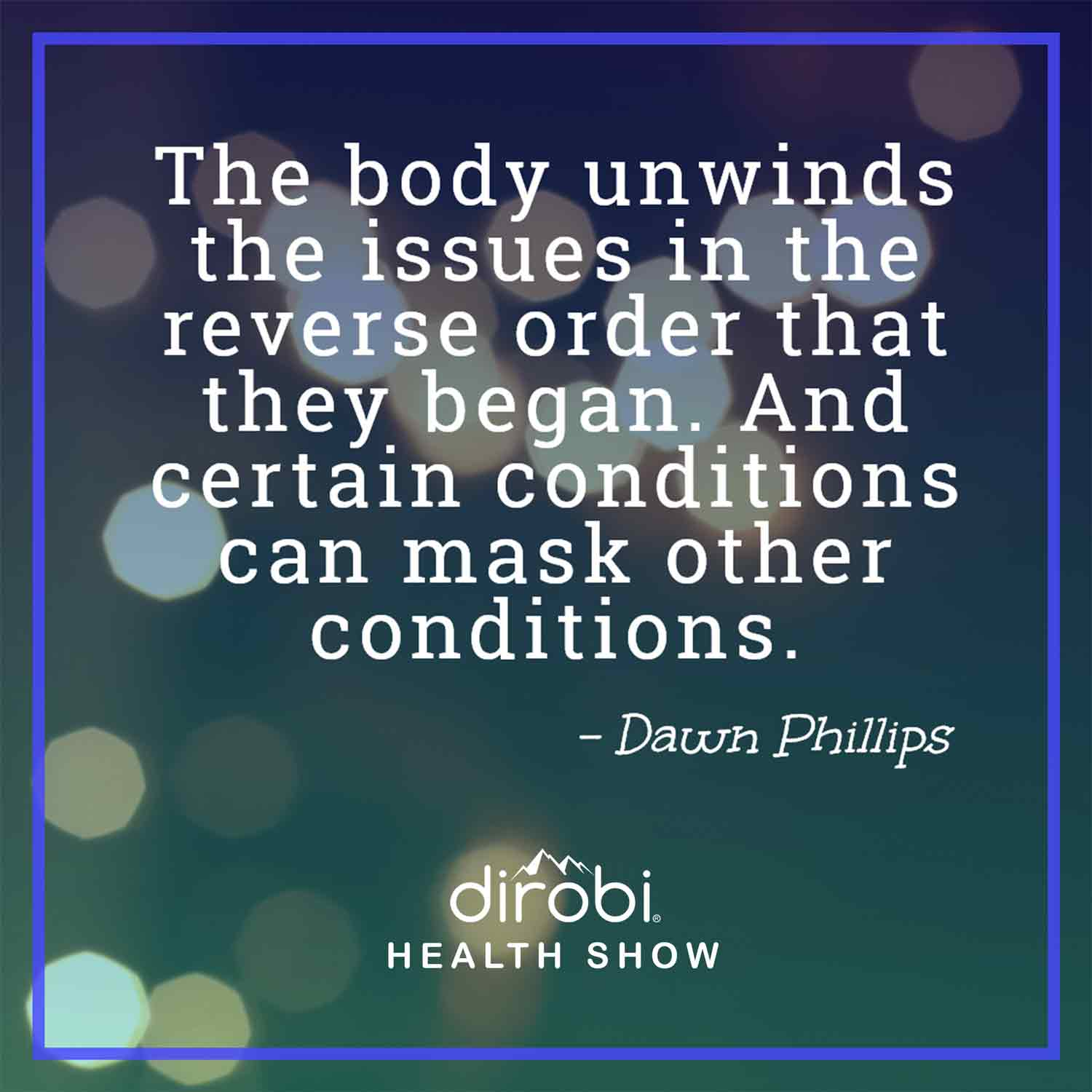 Holistic Health With Nutrition Therapy Practitioner Dawn Phillips Dirobi Blog