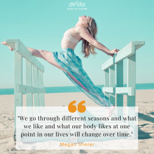 Megan Sherer Seasons Balance Nutrition Quote
