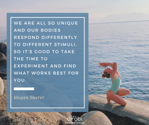 Megan Sherer Nutrition Fitness Balance Quote
