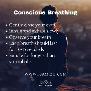 ISAMIZU 5 Conscious Actions Quote 1