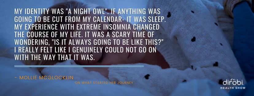 Mollie McGlocklin Quote 1 Sleep