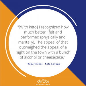 Robert Sikes Keto Savage Quote 2